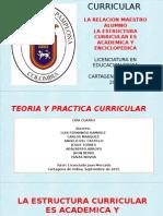 Teoria y Practica Curricular