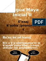 Pronombres de la lengua maya yucateca