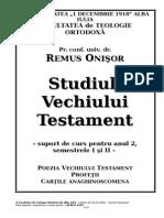 Remus Onisor - Poezia Si Profetii VT - PREL