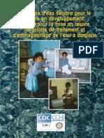 Manuel de Montage d'Un Projet de Système d'Eau Salubre