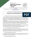 Manuel Caracterisation Site AUE Juillet2014