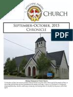 Christ Church September-October Chronicle 2015