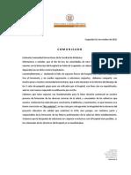 Comunicado Decanatura Facultad de Medicina 2015