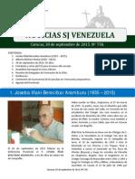 Noticias SJ Nº 758
