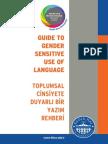Gender Sensitive Writing Guide