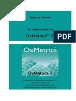 oxmetrics manual