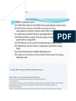 Syarat Adsorpsi Isoterm