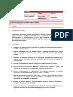 Mecanico de Equipo Liviano y Mediano