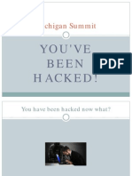 Michigan DGS 2015 Presentation - You'Ve Been Hacked Now What - Michael Ashton