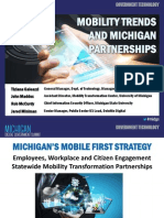 Michigan DGS 2015 Presentation - Mobility Trends - Galeazzi Maddox McCurdy Miniman