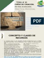 Tema No.30 La Casación Penal en Nicaragua