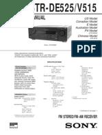Amplificador Sony Str-De525