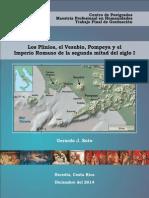 Los Plinios, Vesubio, Pompeya e Imperio Romano -Memoria Humanidades -GJSoto 2014