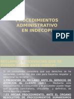 procedimiento administratico en Indecopi