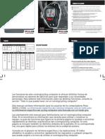Polar S625X S725X User Manual Espanol