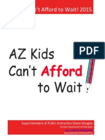 Arizona Kids Can't Afford to Wait!