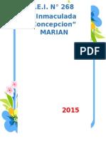 II.EE  Inicial N° 268 -Marian