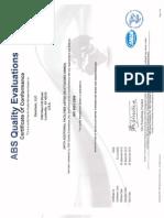 Zeochem ISO Certification