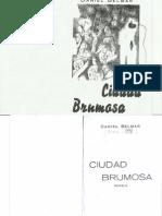 Ciudad Brumosa, daniel belmar