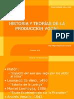 Historia y Evolución Del Estudio de La Voz, Teorías de La Fonación (1)