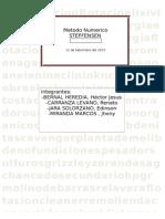 Analisis Numerico METODO STEFFENSEN