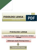 FISIOLOGI LENSA