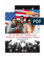 be an ally for lgbt - lesbian army wife