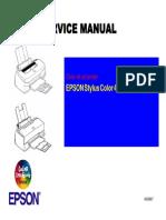 Stylus Color 440 Service Manual