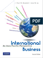 INTERNATIONAL BUSINESS AsiaN Pacific Textbook