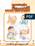 Cartilha Alimentação Infantil