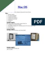 Le Système d'exploitation Des Ordinateurs Macintosh Nicolas