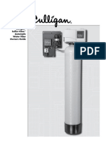 Sulfur Cleer Water Filter Owners Guide