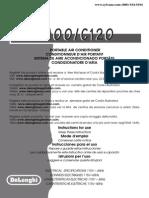 Delonghi Pac c100/c120e Guide