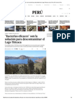 _Bacterias Eficaces_ Son La Solución Para Descontaminar El Lago Titicaca _ Lima _ Peru _ El Comercio Peru