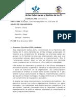 Evaluación de Gobernanza y Gestión de TI