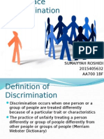 Workplace Discrimination