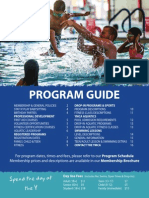 OS YMCA Program Guide 2014-2015 Updated
