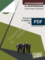 Manual Operativo Nº 3- Errores Frecuentes en La Deducción de Gastos de Una Empresa (OK)