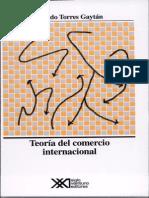 Teoría Del Comercio Internacional_Ricardo Torres Gaytán_Clásicos
