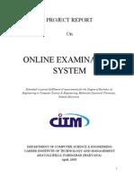 Online Exam Report Home