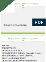 Evolucion Del Derecho Administrativo en Francia y Colombia