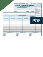 1.4 Formulario Plan de Refuerzo Académico Portafolio Docente Ecuador 2015 Formato Word