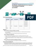 9 2 1 3 Practica de Laboratorio Diseno e Implementacion de Un Esquema de Direccionamiento IPv4 Dividido en Subredes