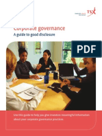 A Guide to Good Corporate Governance