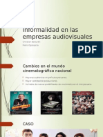 Resumen Informalidad Audiovisual