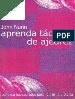 librooou Aprenda Tácticas de Ajedrez - John Nunn