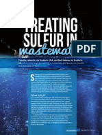 Treating Sulfur in Wastewater