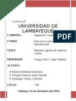 Reforma Agraria en America Latina