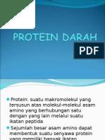 PROTEIN DARAH ( Alb + TP )