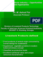 Opportunities in Livestock Products Technology